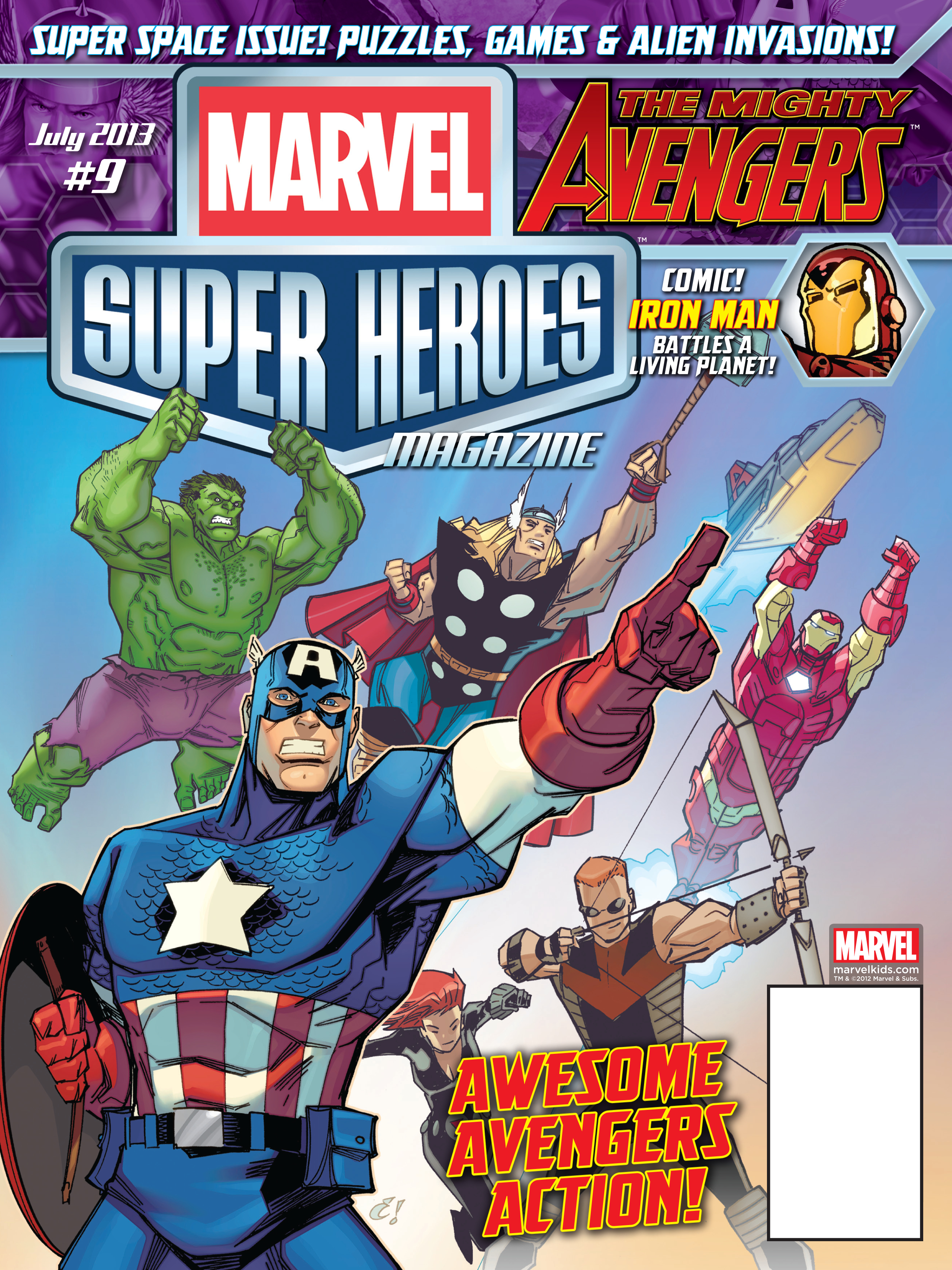 MARVEL SUPER HEROES #9