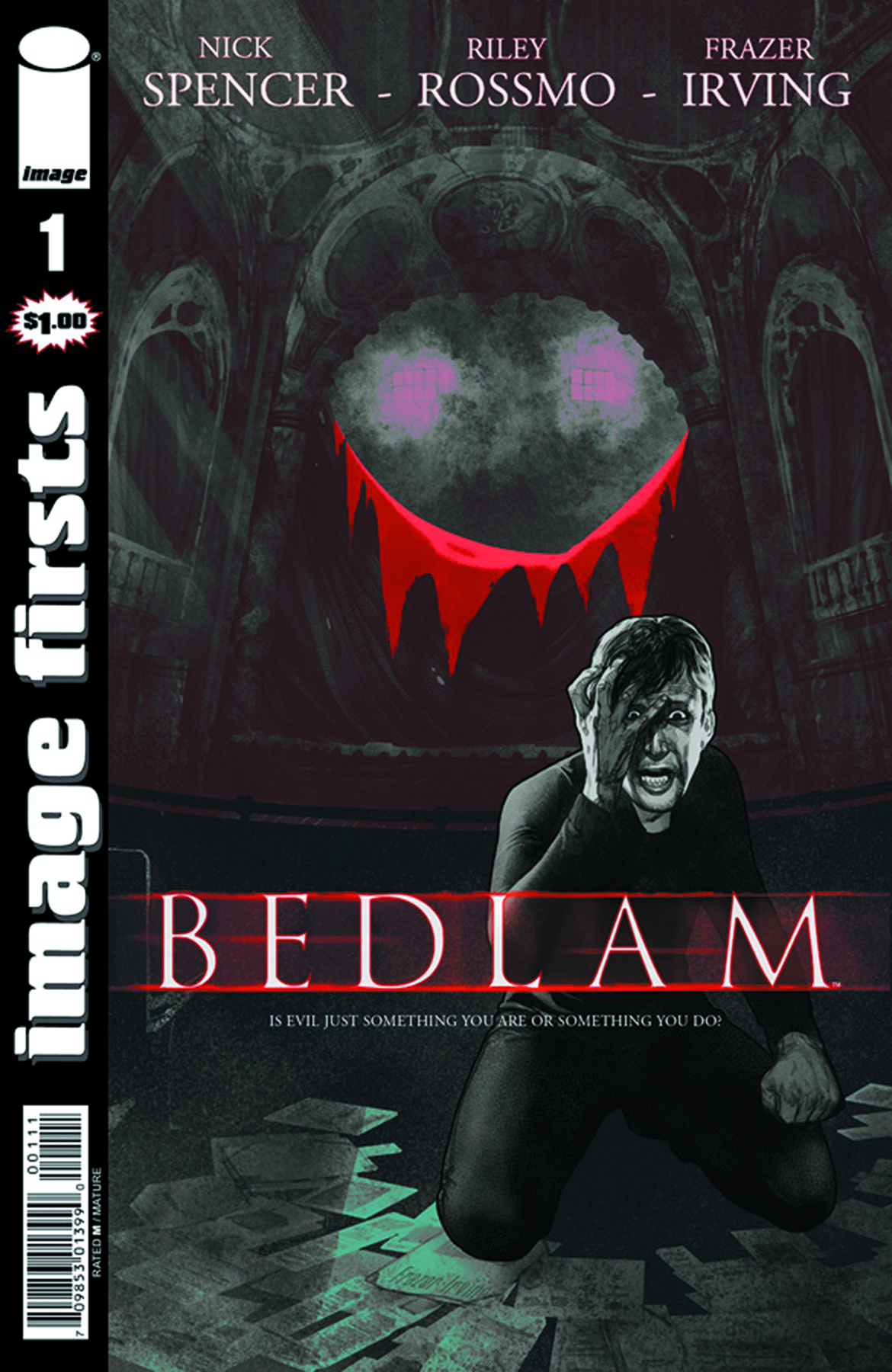 IMAGE FIRSTS BEDLAM CURR PTG #1