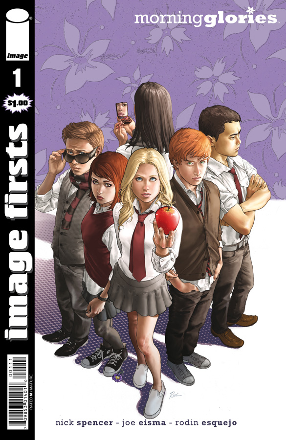 IMAGE FIRSTS MORNING GLORIES CURR PTG #1