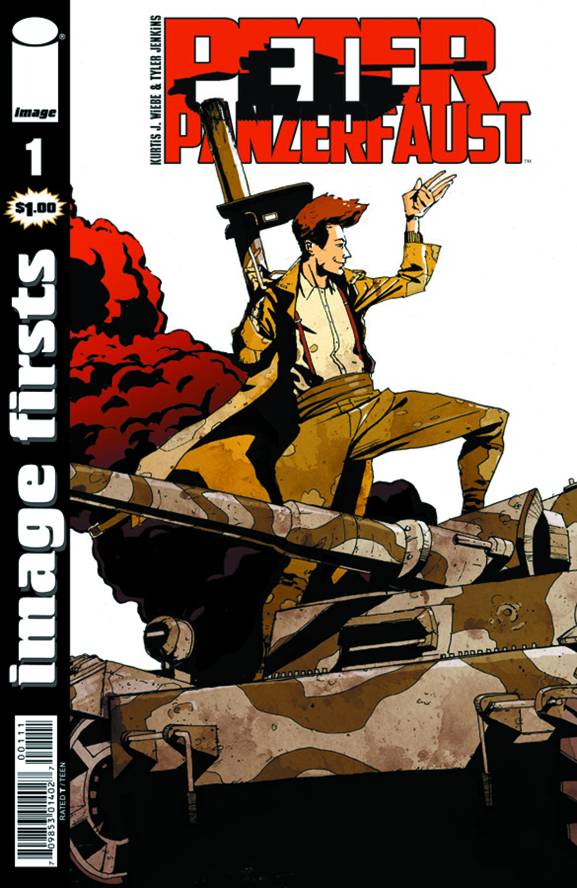 IMAGE FIRSTS PETER PANZERFAUST CURR PTG #1
