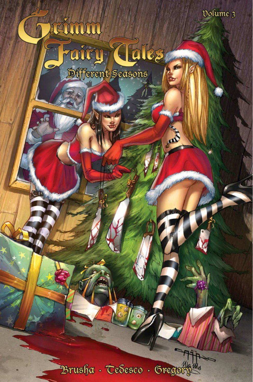 GRIMM FAIRY TALES DIFFERENT SEASONS TP VOL 03