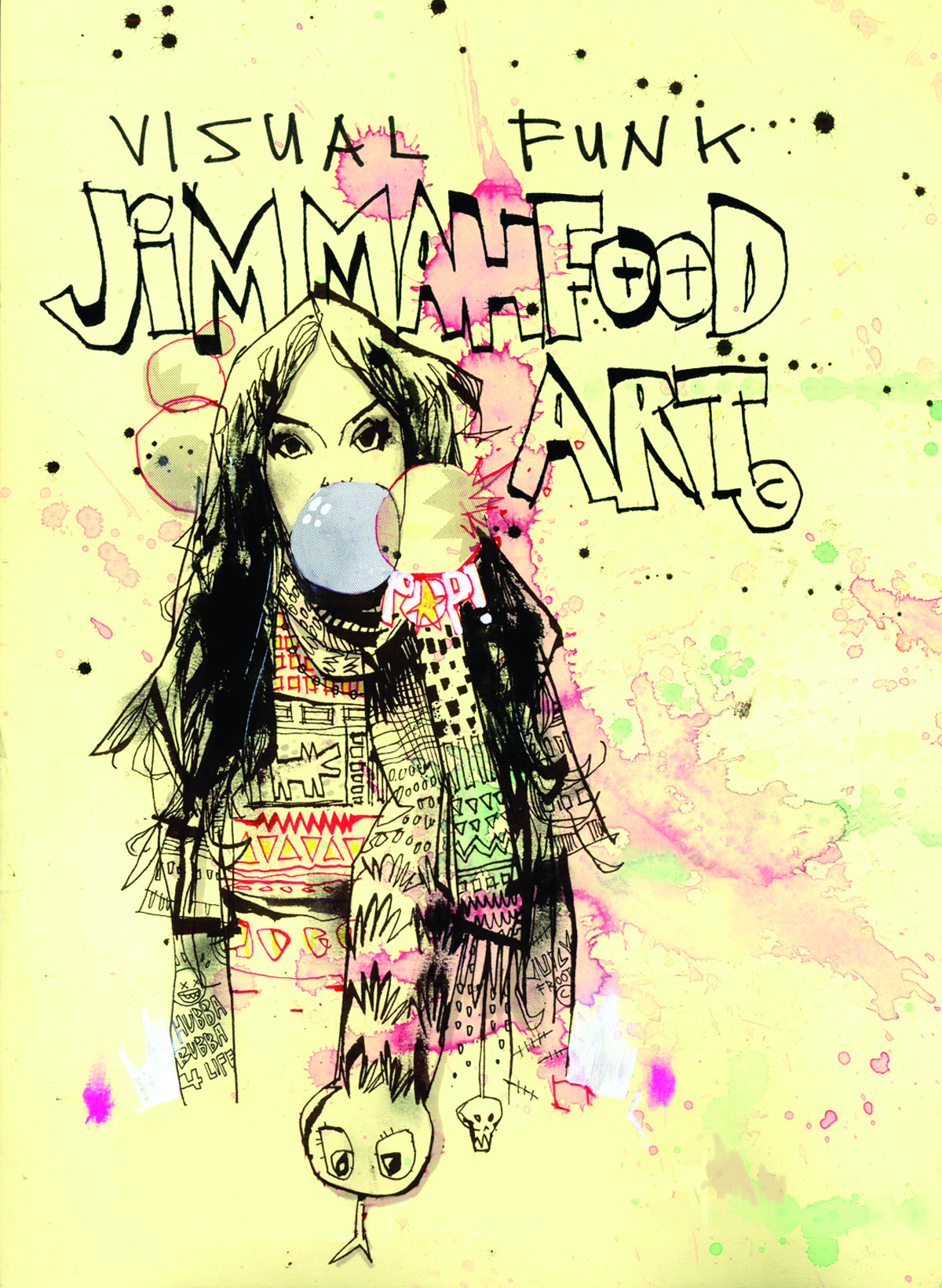 VISUAL FUNK JIM MAHFOOD ART HC