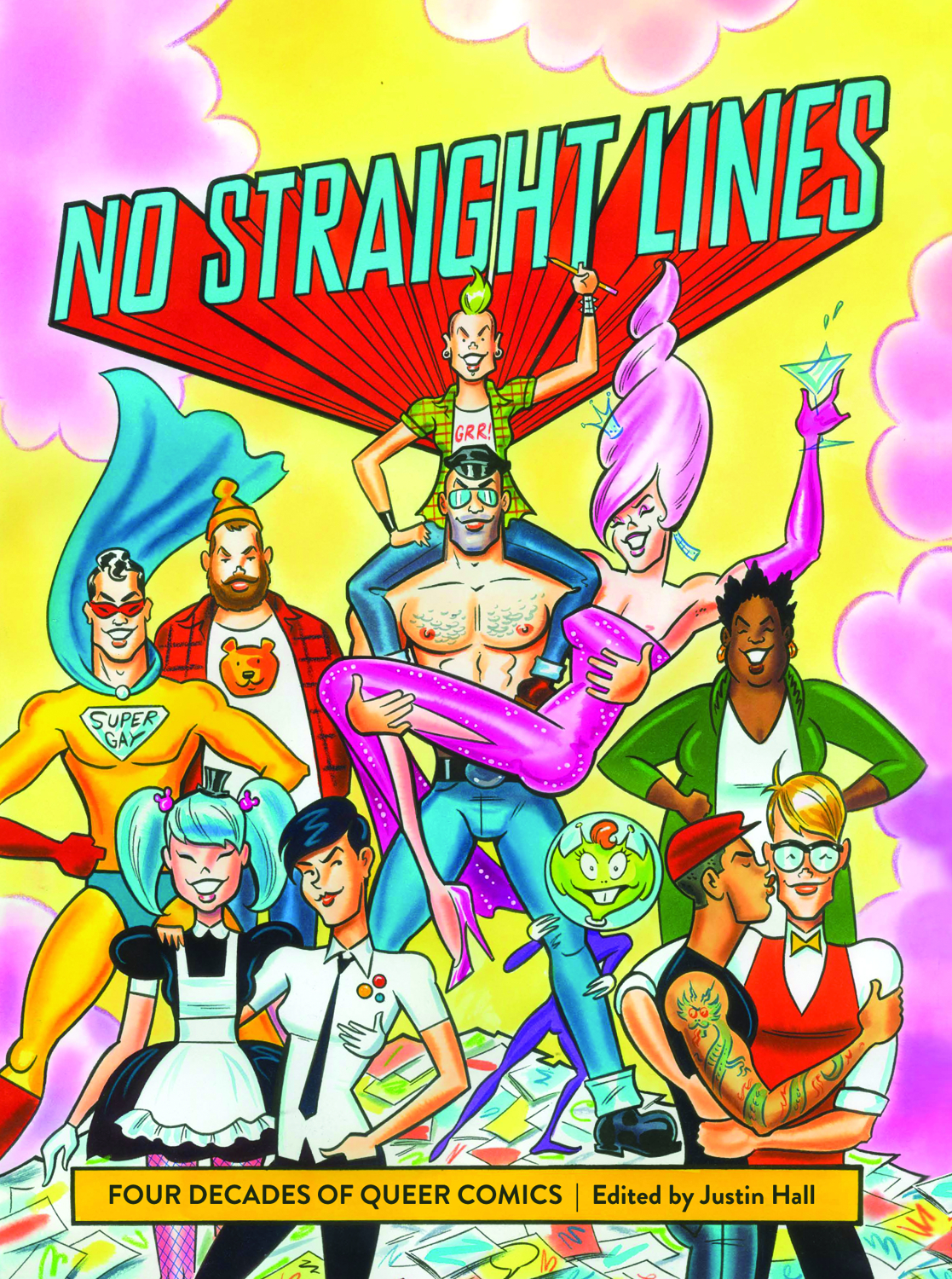 NO STRAIGHT LINES QUEER COMICS TP