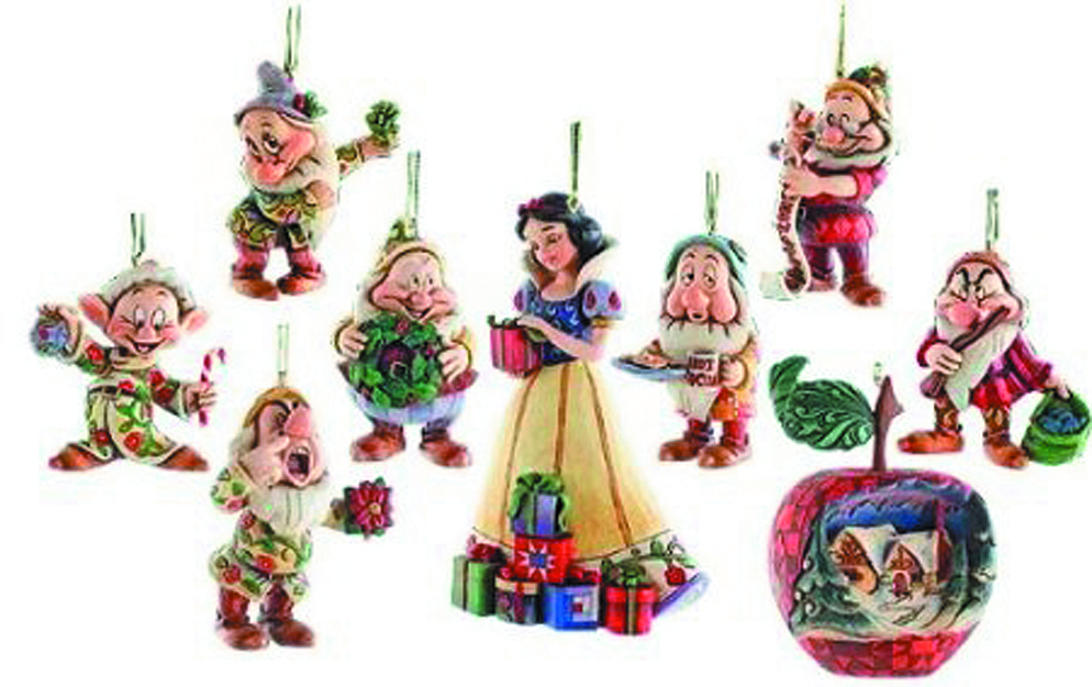 SNOW WHITE ORNAMENT SET