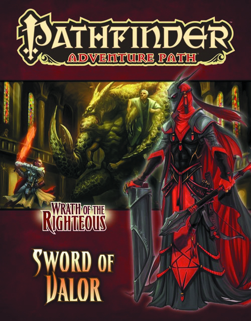 PATHFINDER AP WRATH O/T RIGHTEOUS PT 2 SWORD OF VALOR
