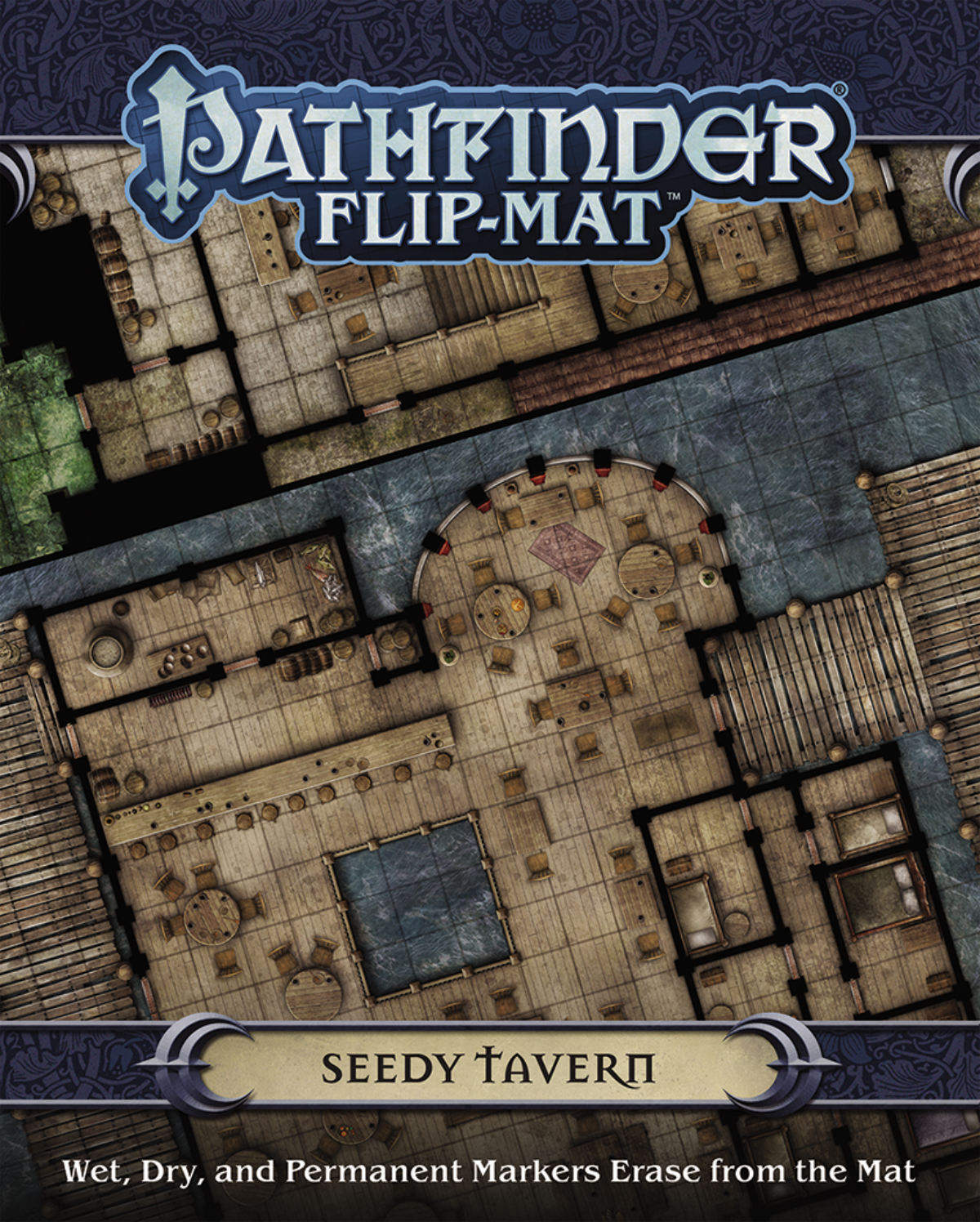 PATHFINDER FLIP MAT SEEDY TAVERN