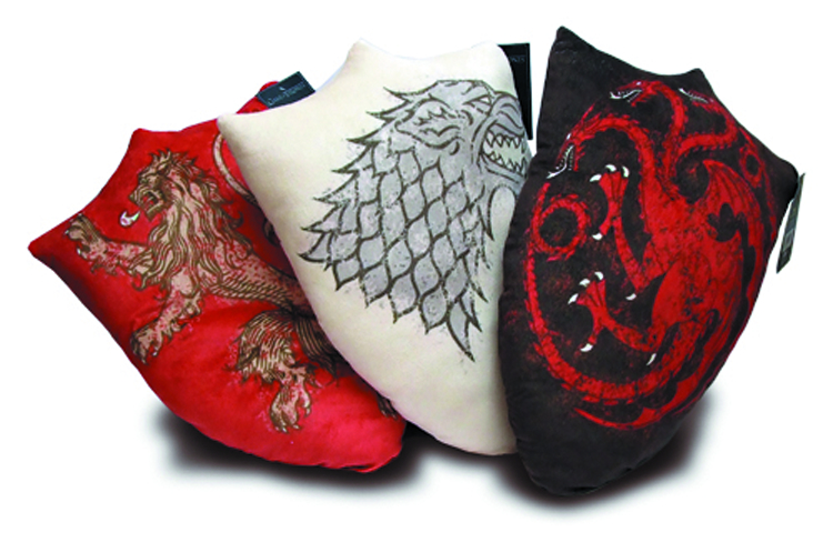 GAME OF THRONES HOUSE SIGIL THROW PILLOW ASST
