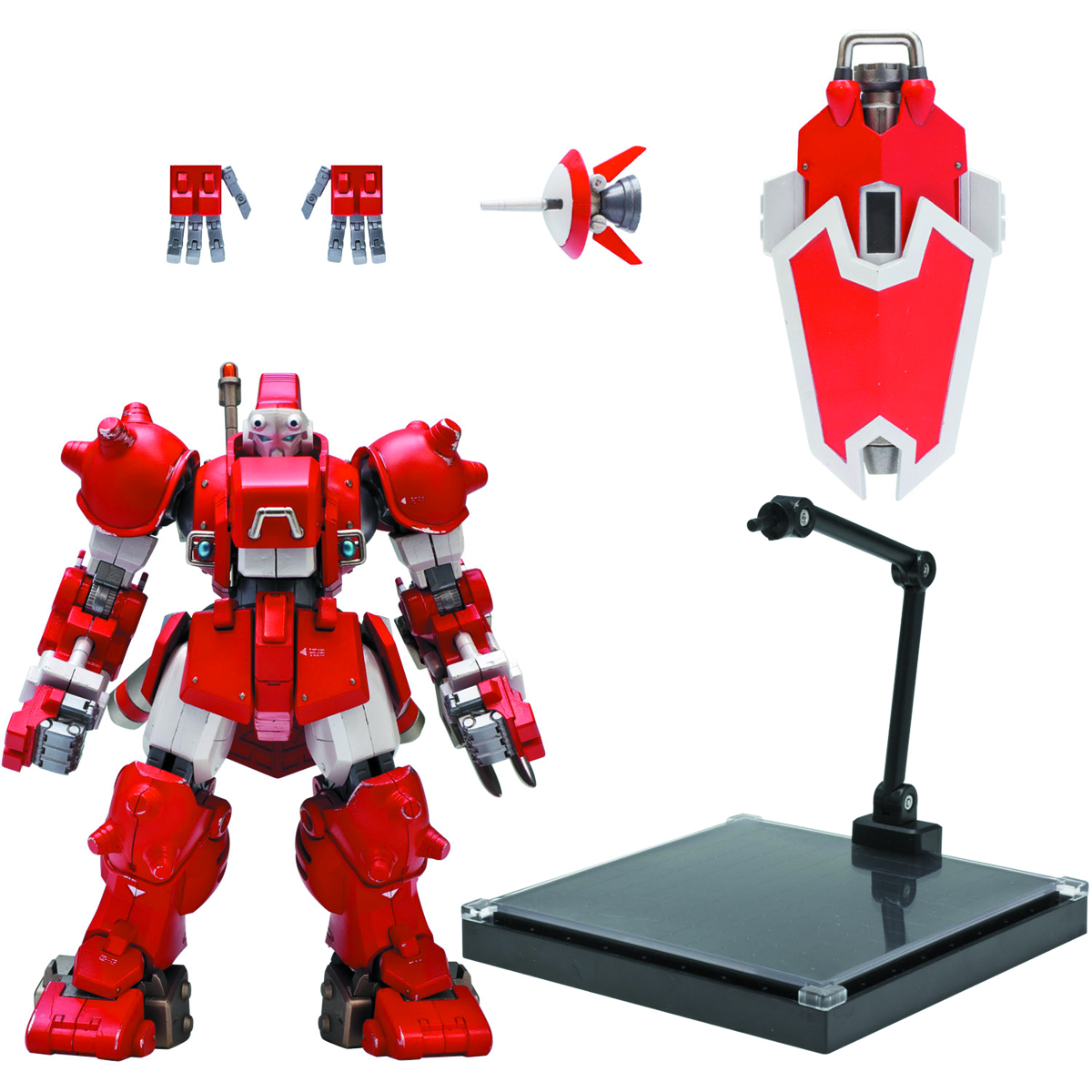 CYBERBOTS BLODIA RIOBOT RED VER