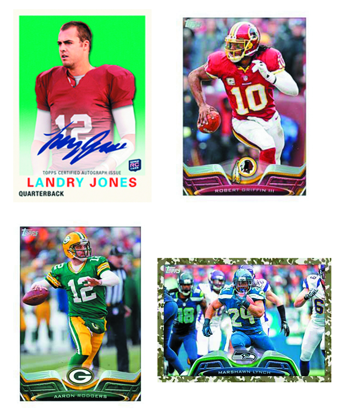TOPPS 2013 FOOTBALL T/C JUMBO BOX