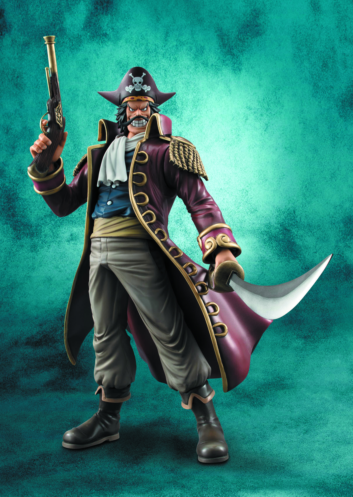 ONE PIECE POP DX GOL D ROGER EX MODEL PVC FIG