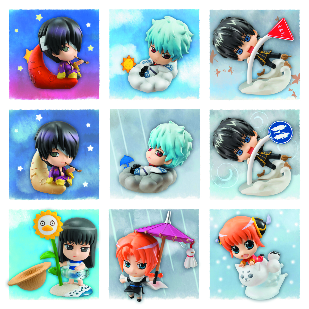 GINTAMA WEATHER FORECAST PETIT CHARA LAND 10PC DS