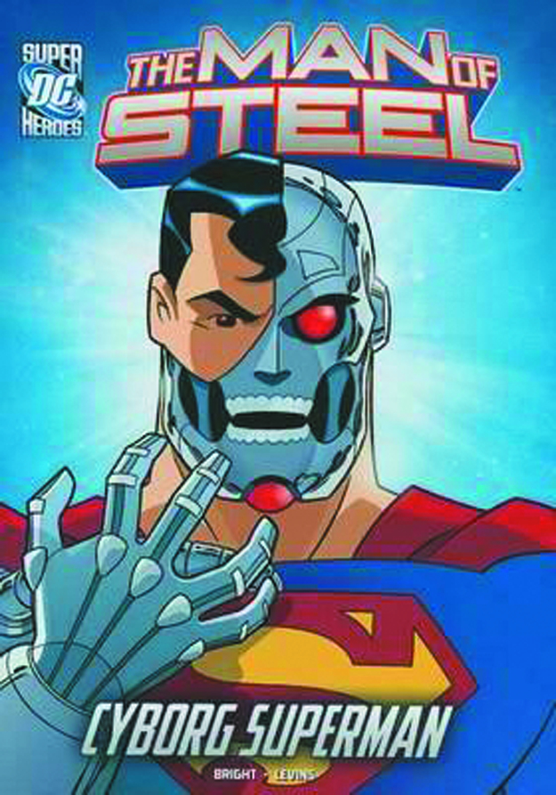 DC SUPER HEROES MAN OF STEEL YR TP CYBORG SUPERMAN