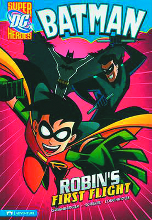 DC SUPER HEROES BATMAN YR TP ROBINS FIRST FLIGHT