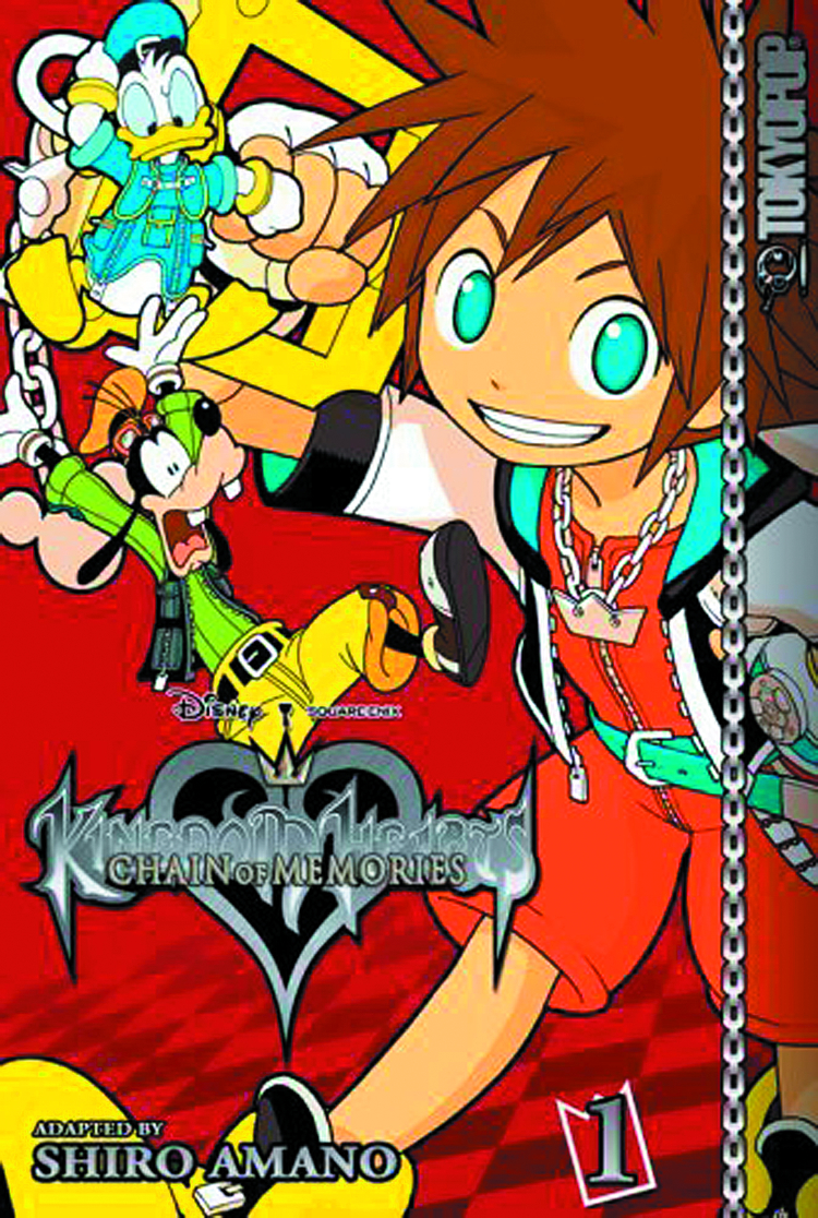 (USE AUG148091) KINGDOM HEARTS CHAIN OF MEMORIES TP