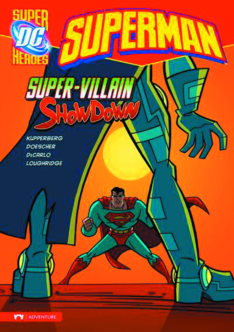 DC SUPER HEROES SUPERMAN YR TP SUPER VILLAIN SHOWDOWN