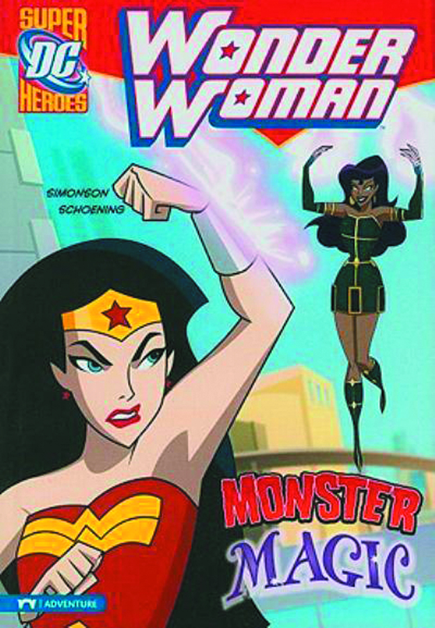 DC SUPER HEROES WONDER WOMAN YR TP MONSTER MAGIC