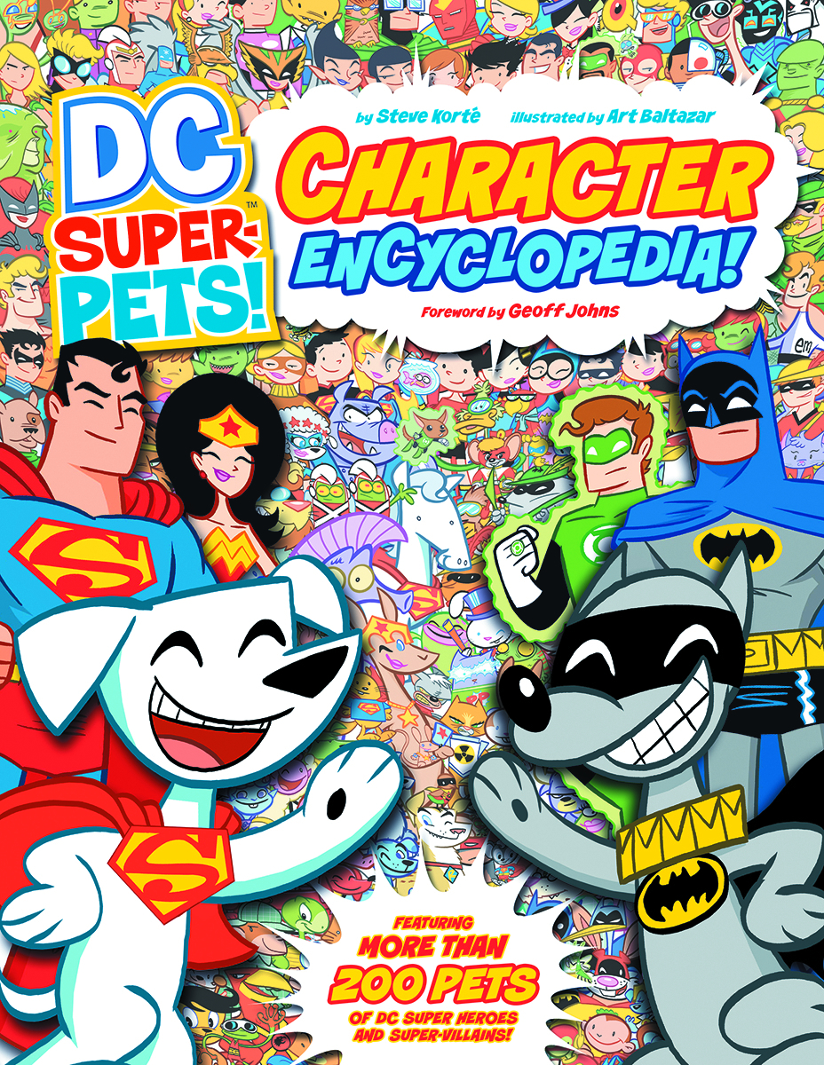 DC SUPER PETS CHARACTER ENCYCLOPEDIA YR TP