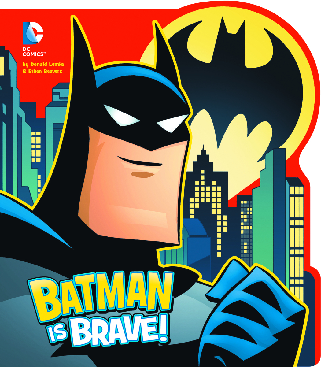 DC YR BOARD BOOK BATMAN IS BRAVE