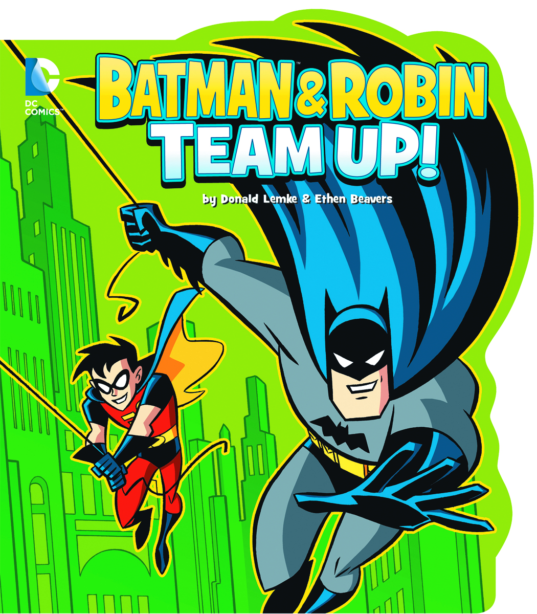 DC YR BOARD BOOK BATMAN & ROBIN TEAM UP