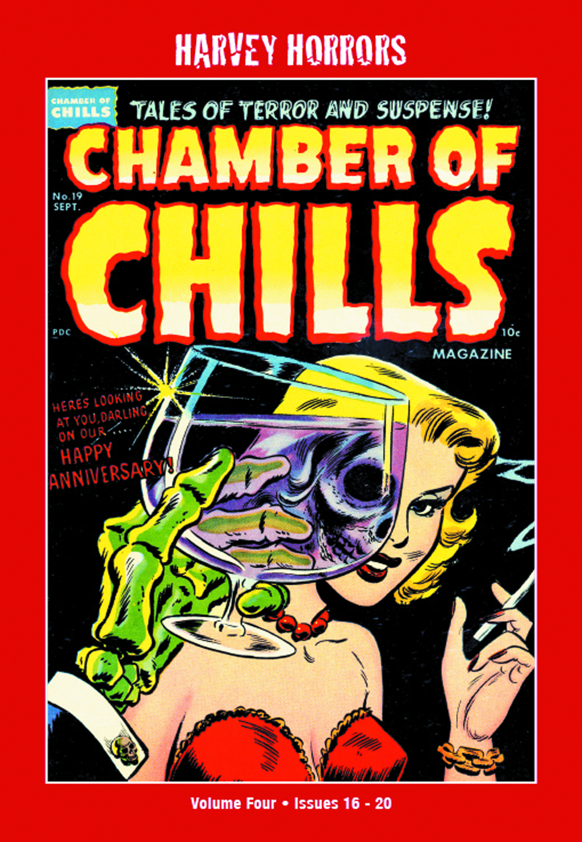 HARVEY HORRORS CHAMBER OF CHILLS SOFTIE TP VOL 04