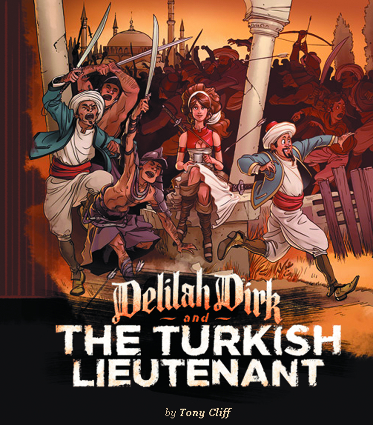 (USE FEB168100) DELILAH DIRK & TURKISH LIEUTENANT GN
