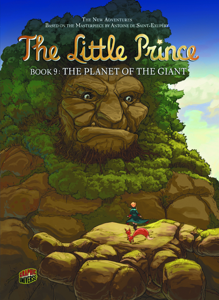 LITTLE PRINCE GN VOL 09 PLANET O/T GIANT