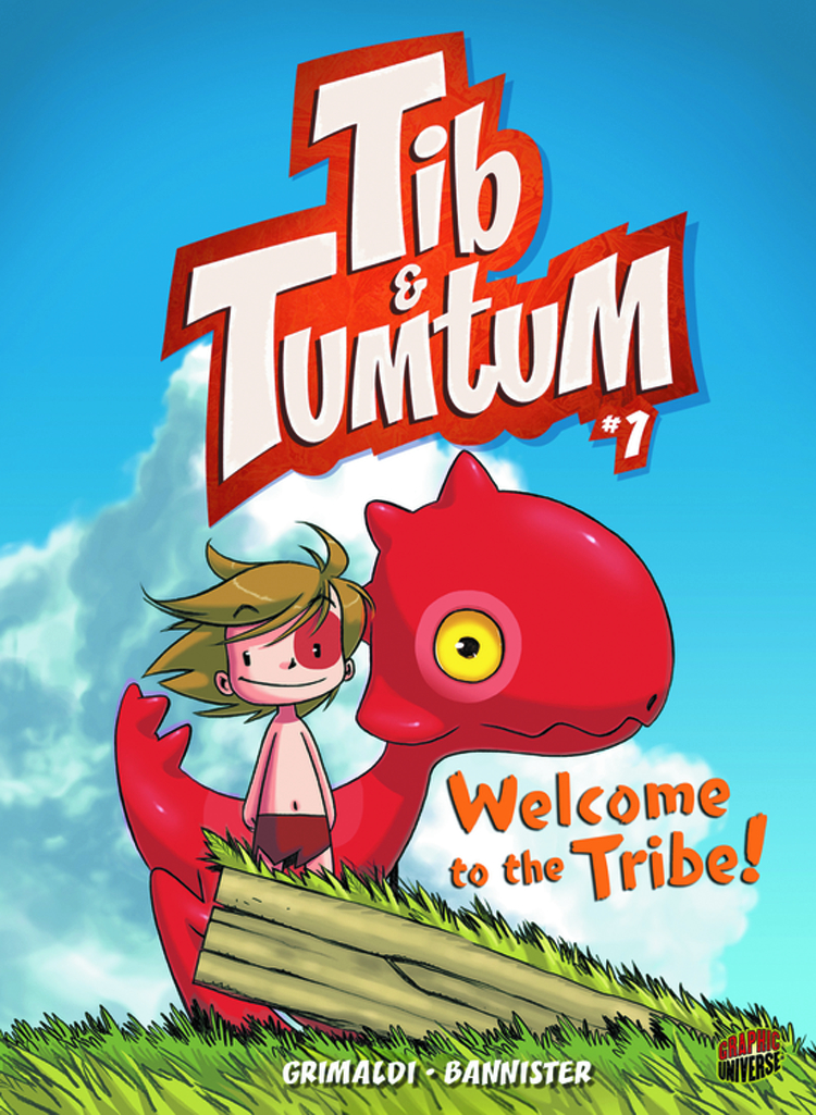 TIB & TUMTUM GN VOL 01 WELCOME TO TRIBE