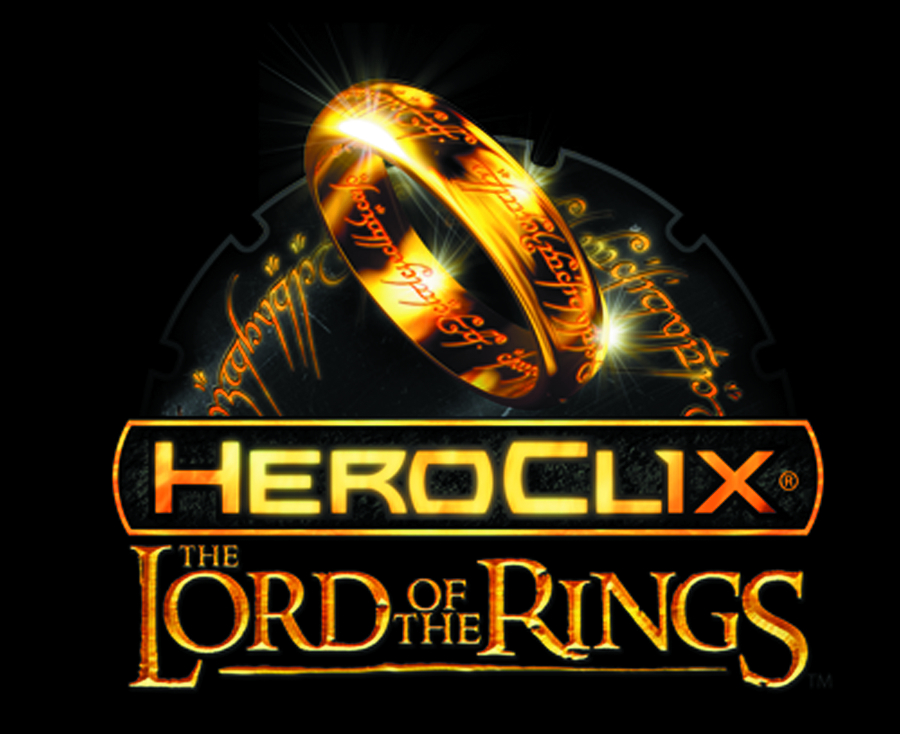 LORD OF THE RINGS HEROCLIX FELLOWSHIP 24CT DISPLAY