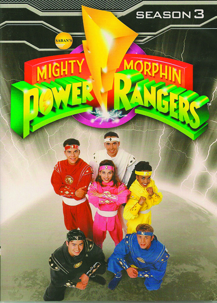 MIGHTY MORPHIN POWER RANGERS DVD SEA 03