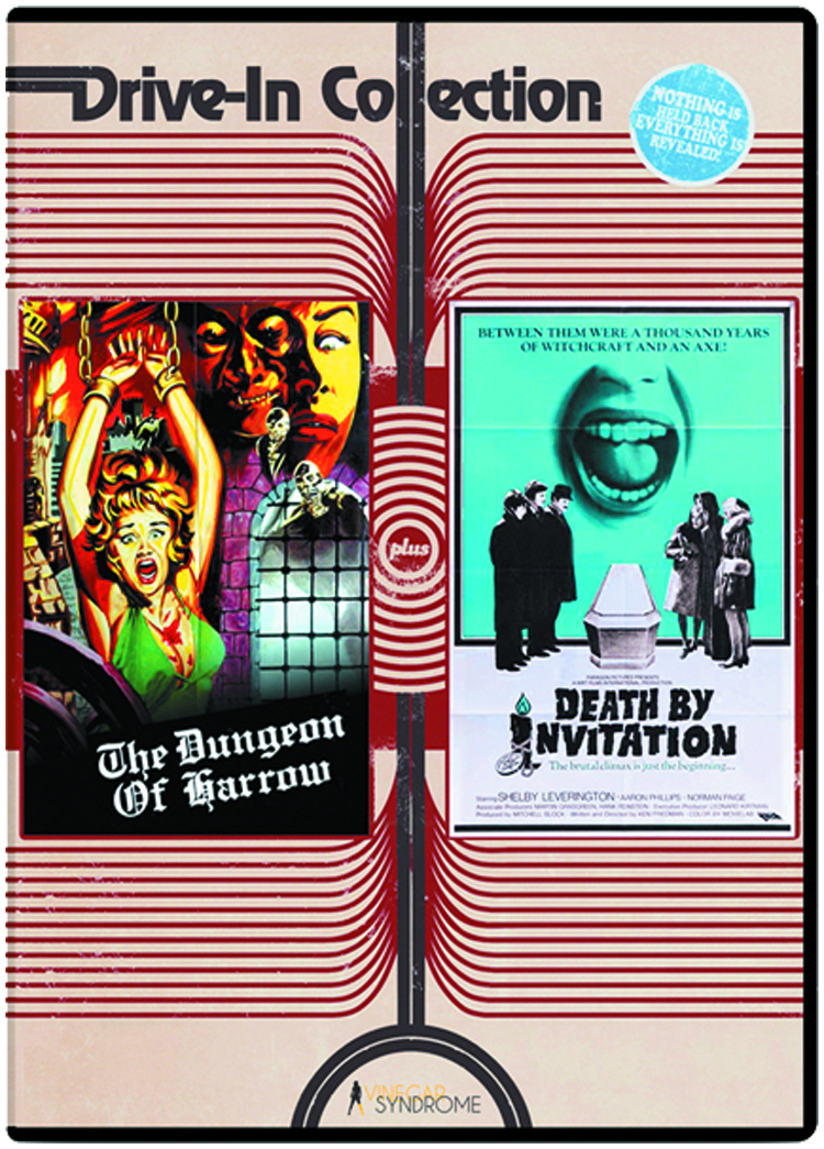 DUNGEON OF HARROW/DEATH BY INVITATION DVD