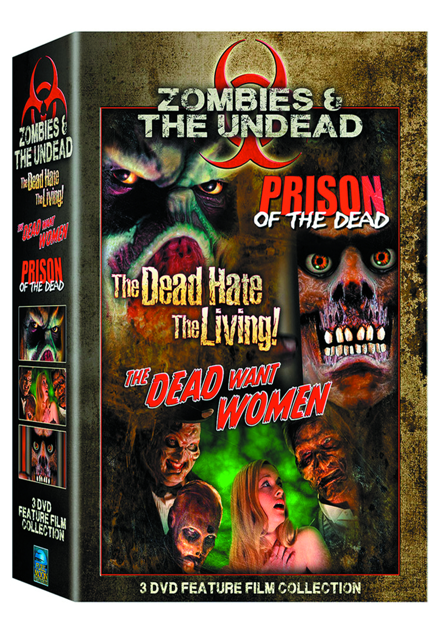 ZOMBIES & THE UNDEAD DVD BOX SET