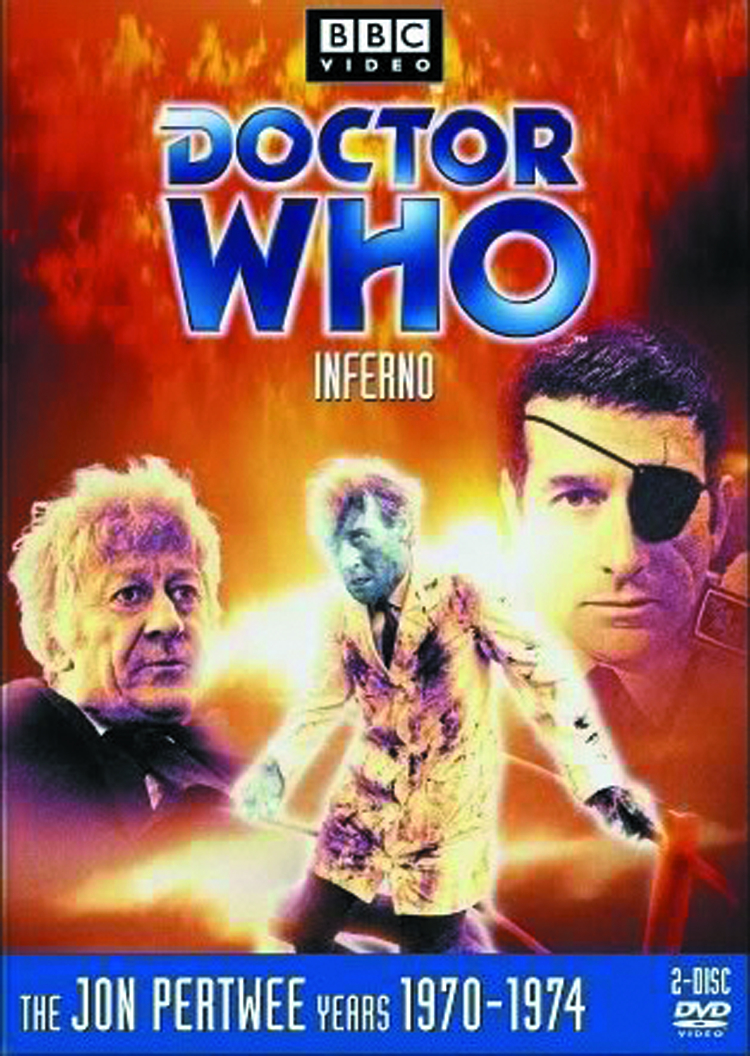 DOCTOR WHO INFERNO DVD