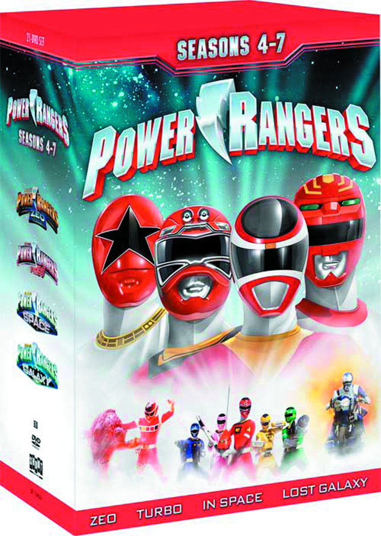 MIGHTY MORPHIN POWER RANGERS DVD SEA 04-07