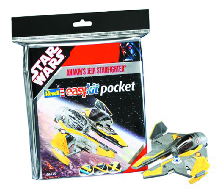 SW ANAKIN STARFIGHTER MINI-SNAPTITE MODEL KIT