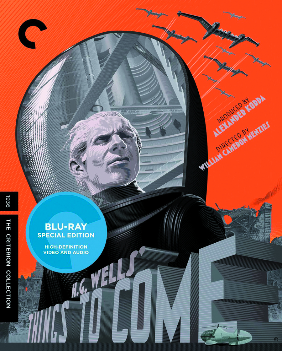 THINGS TO COME CRITERION COLLECTION DVD