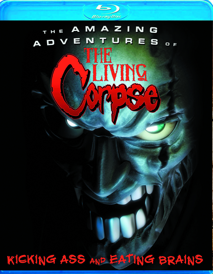 AMAZING ADVENTURES OF THE LIVING CORPSE BD