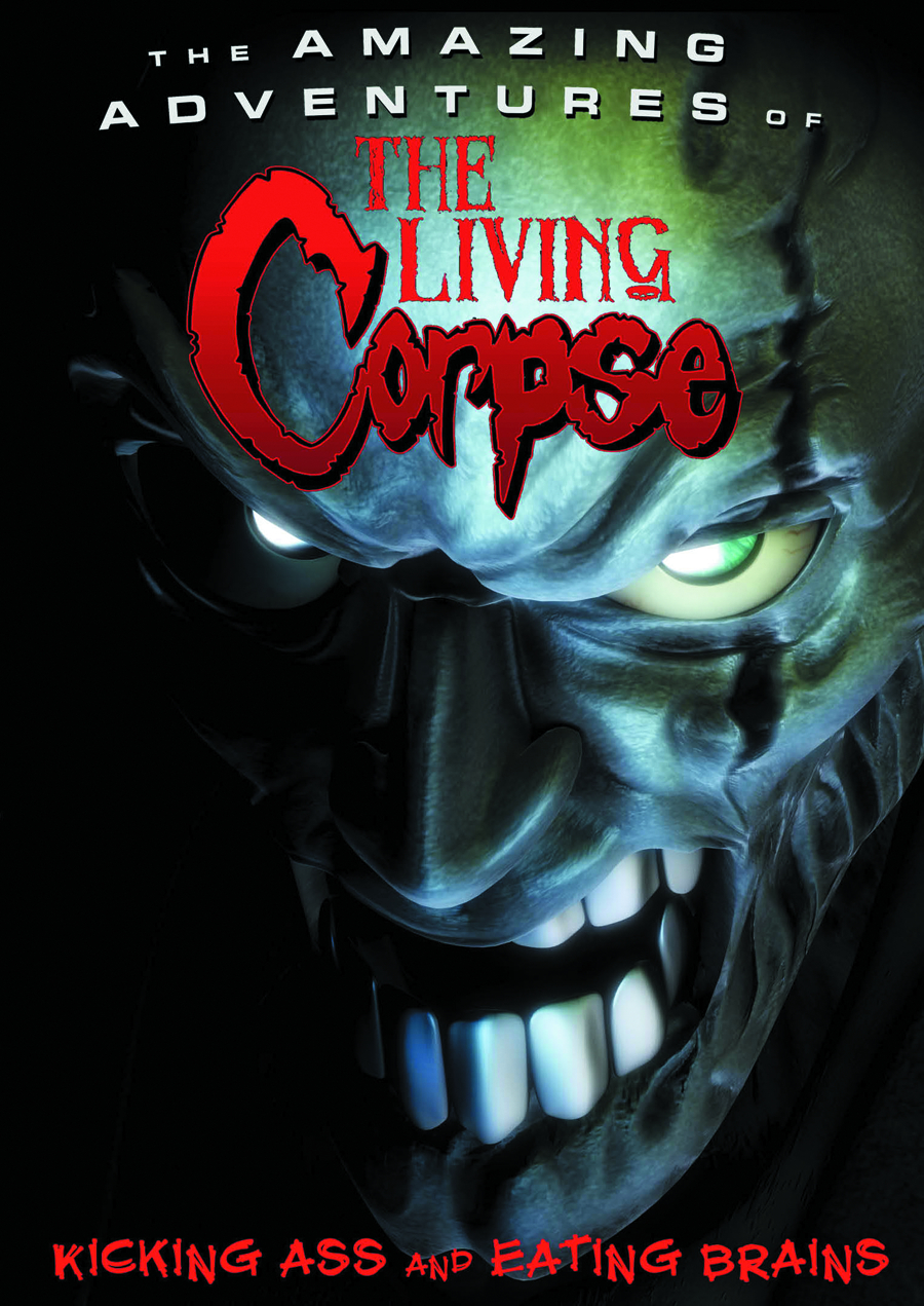 AMAZING ADVENTURES OF THE LIVING CORPSE DVD