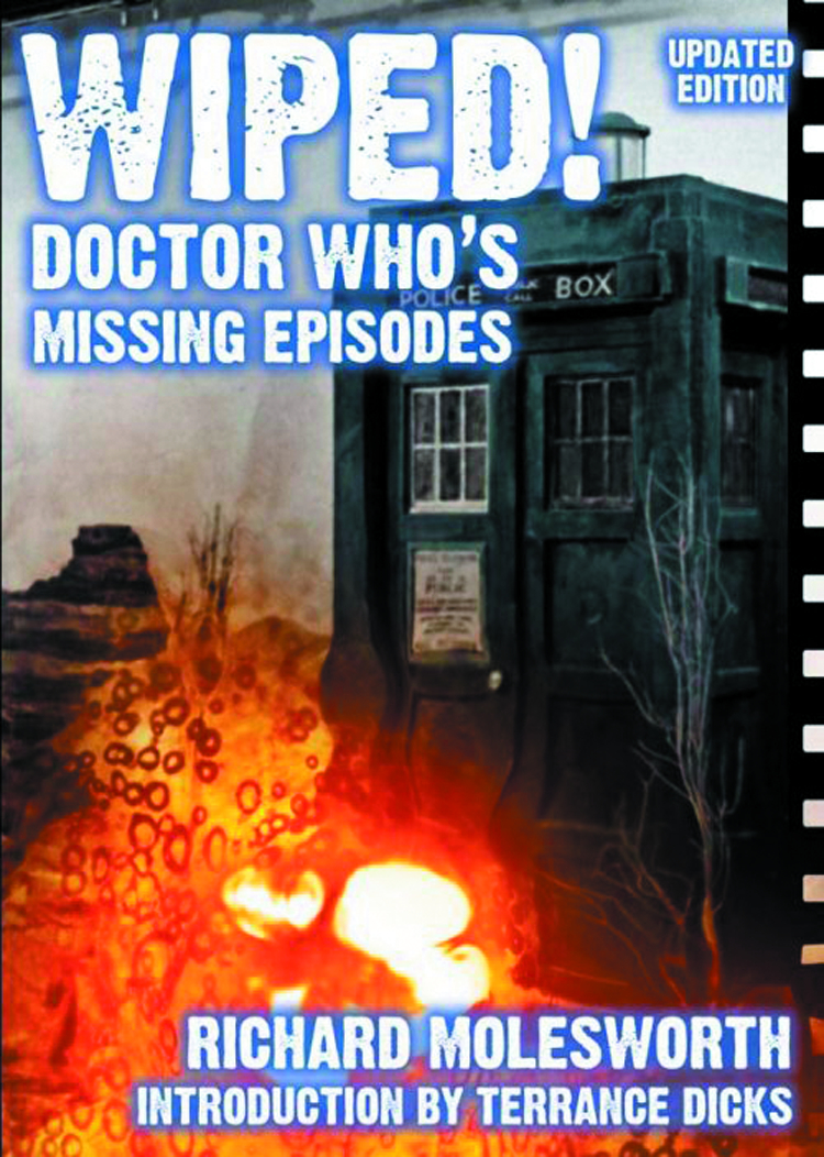 WIPED DOCTOR WHO MISSING EPISODES UPDATED 2ND ED