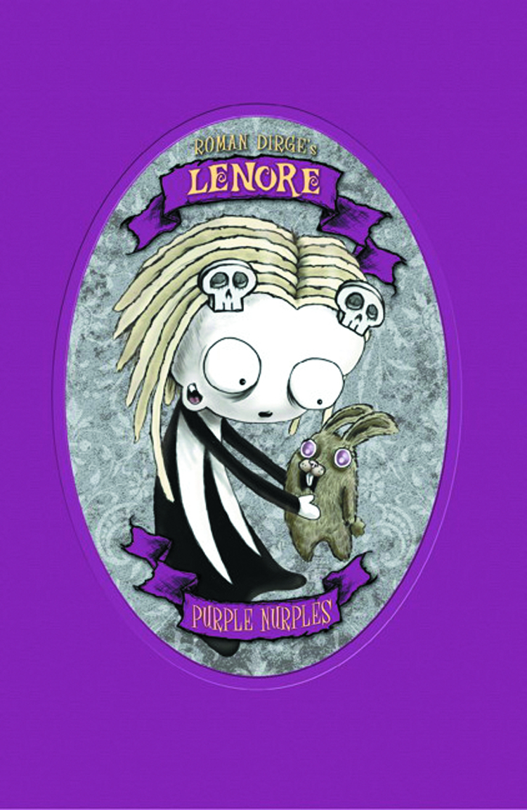 LENORE PURPLE NURPLES HC COLOR ED