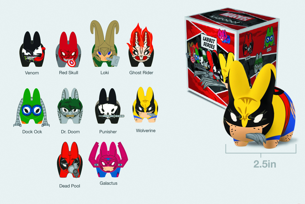 MARVEL MINI LABBIT 20PC BMB DS
