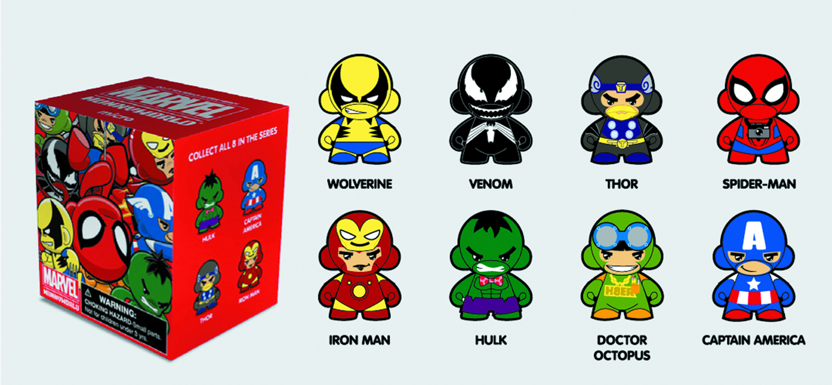 MARVEL MICRO MUNNY 20PC BMB DS