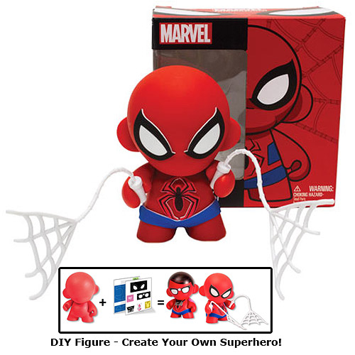 mar138085 marvel spider man mini munny previews world