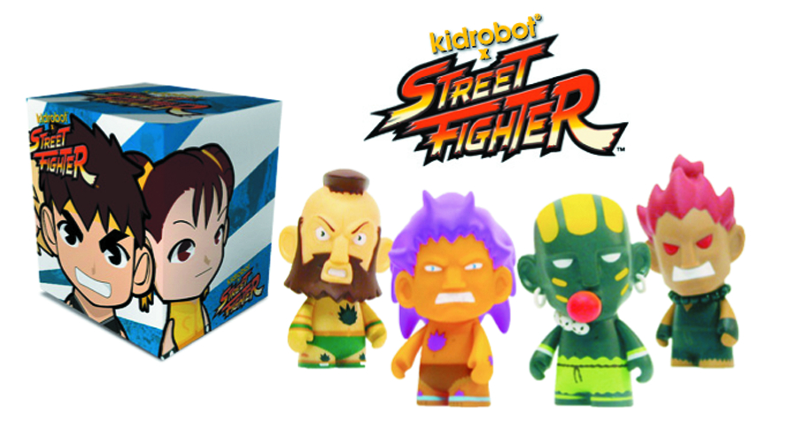 STREET FIGHTER MINI FIG 20PC BMB DS SER 02