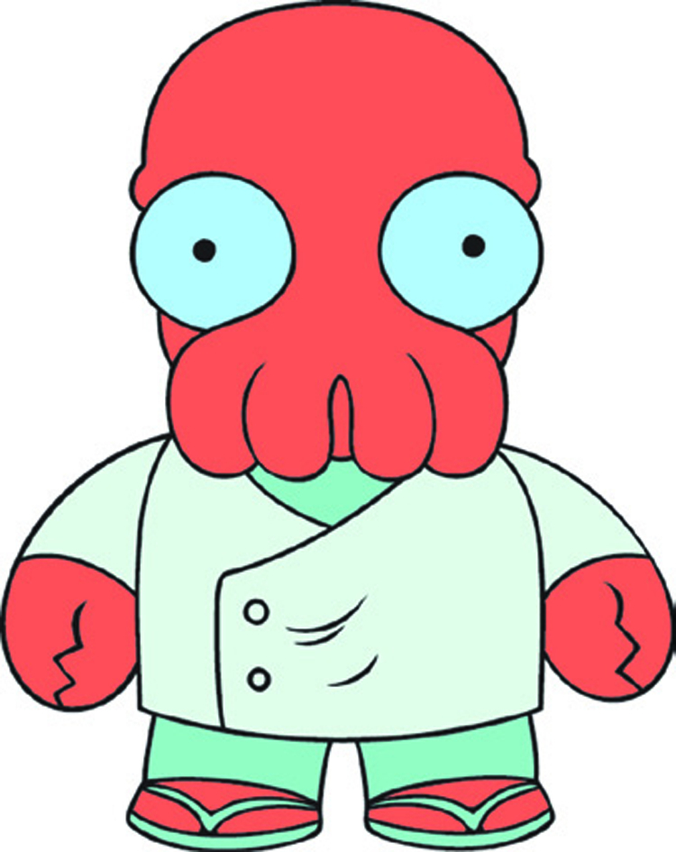 FUTURAMA ZOIDBERG VINYL FIG