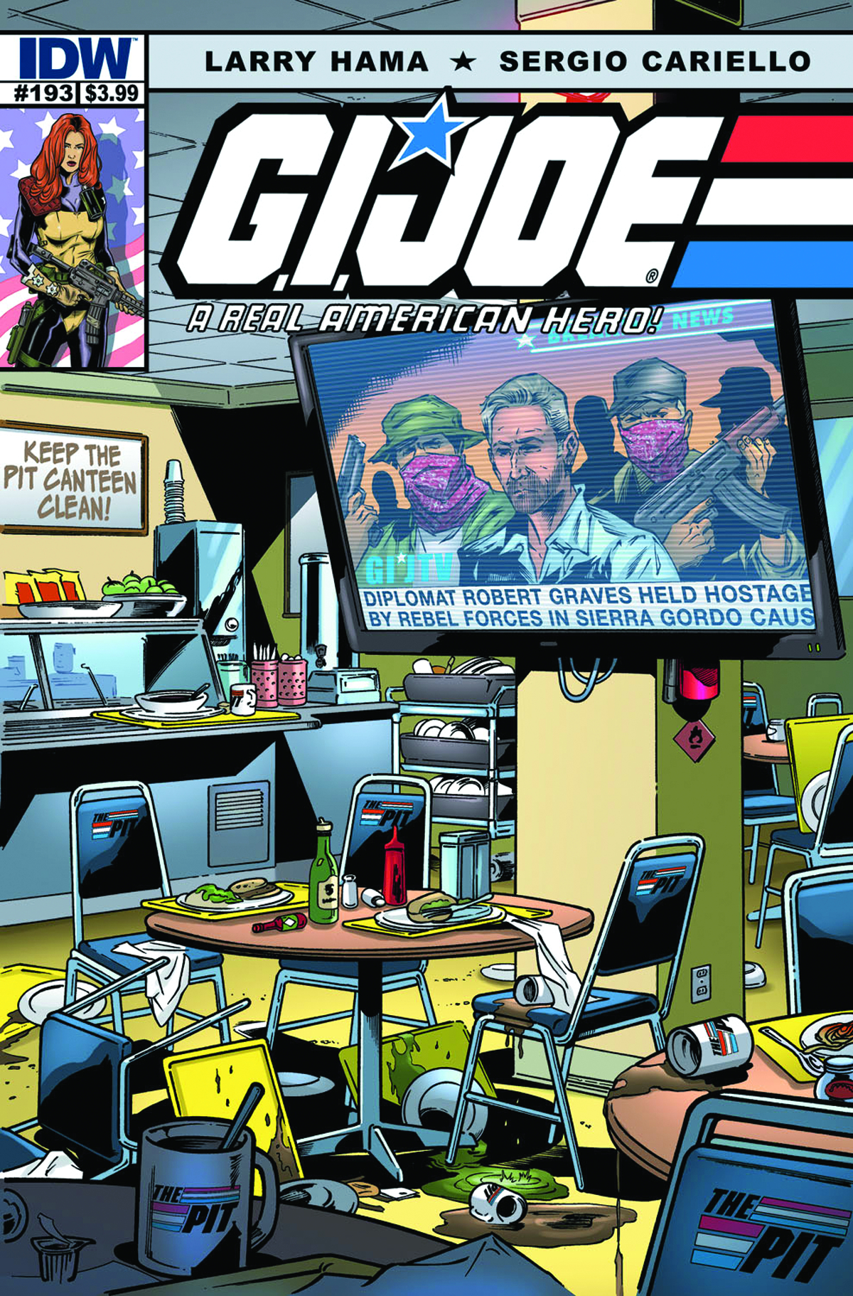 GI JOE A REAL AMERICAN HERO #193
