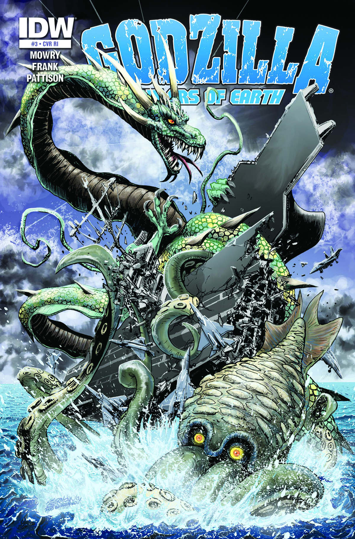 GODZILLA RULERS OF THE EARTH #3