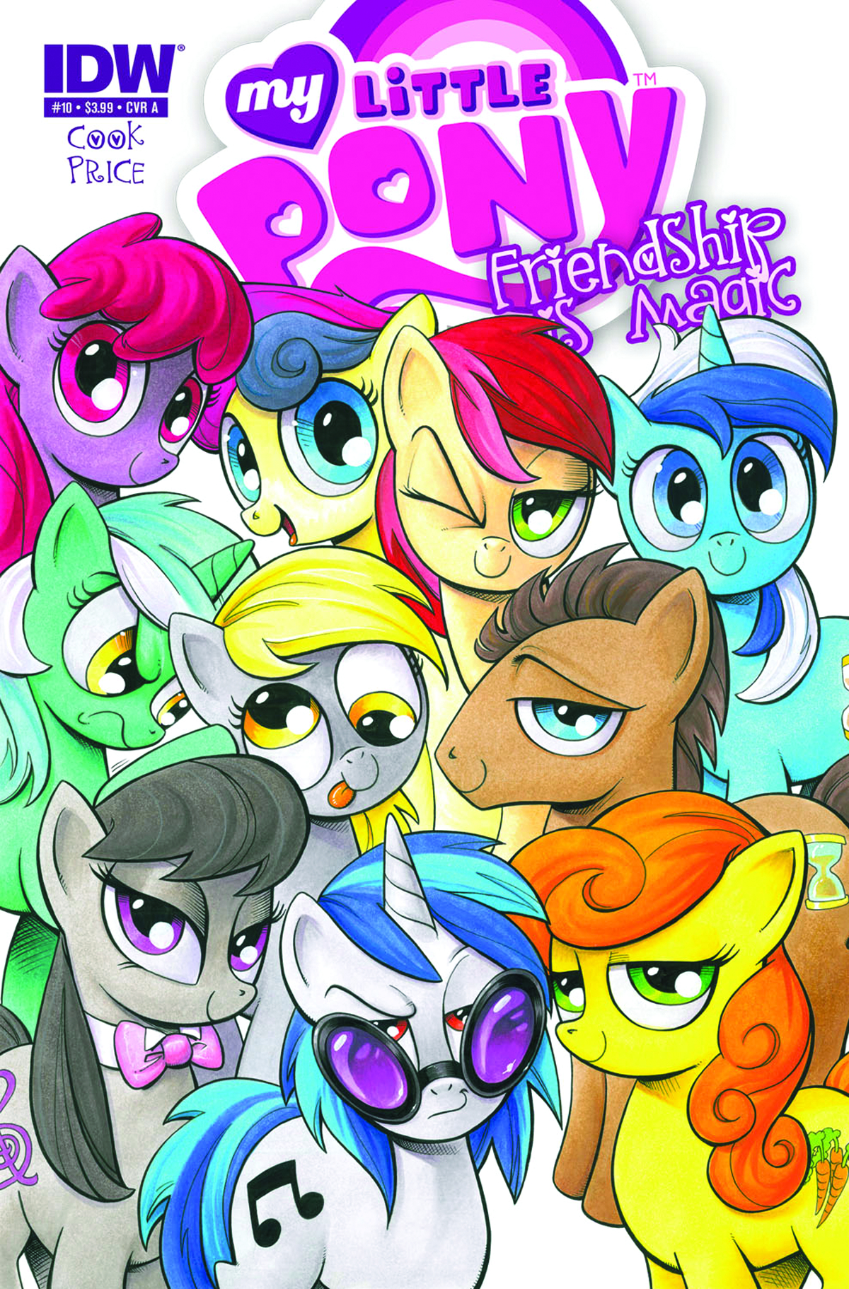 MY LITTLE PONY FRIENDSHIP IS MAGIC #10