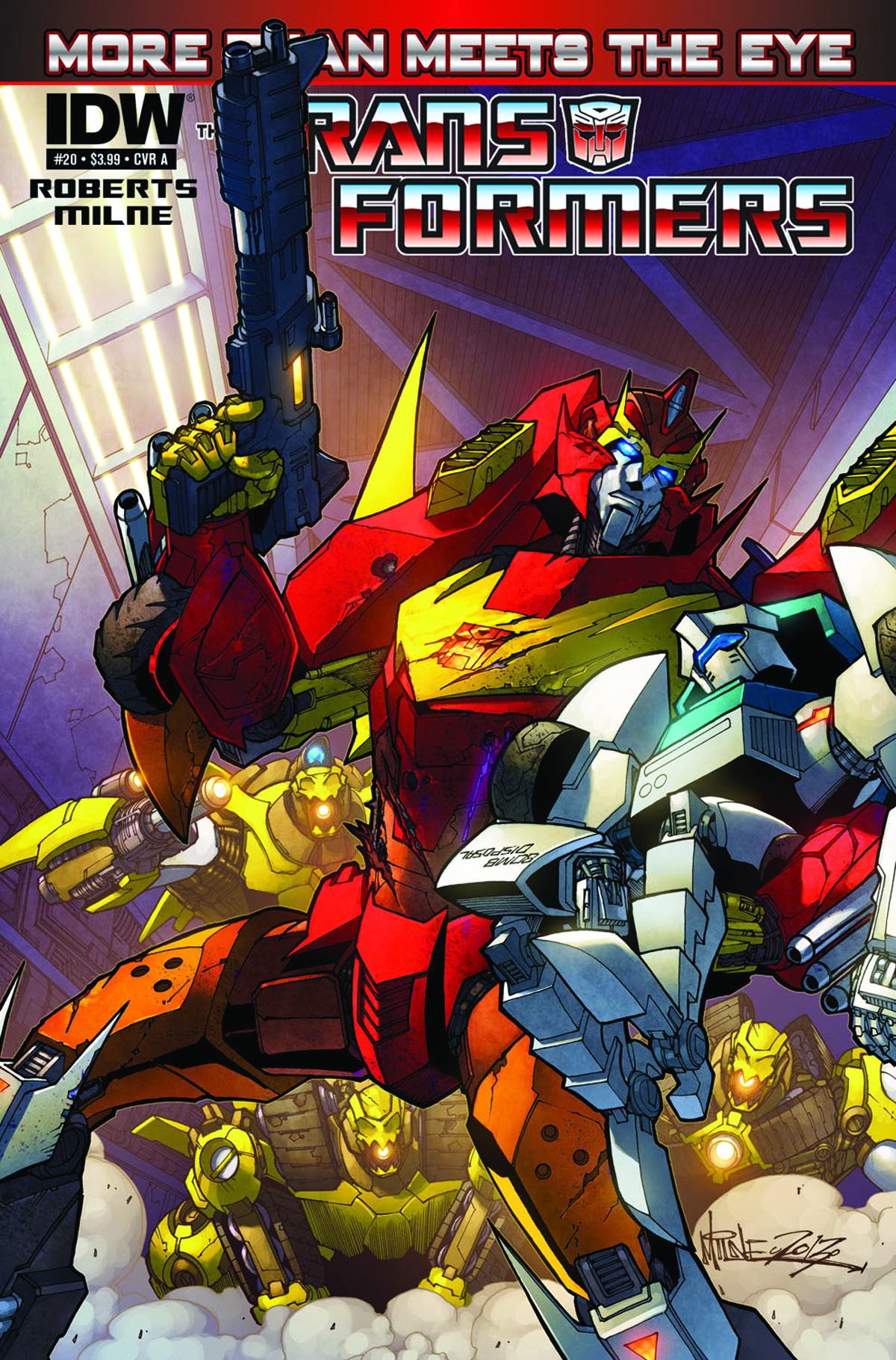 TRANSFORMERS MORE THAN MEETS EYE #20