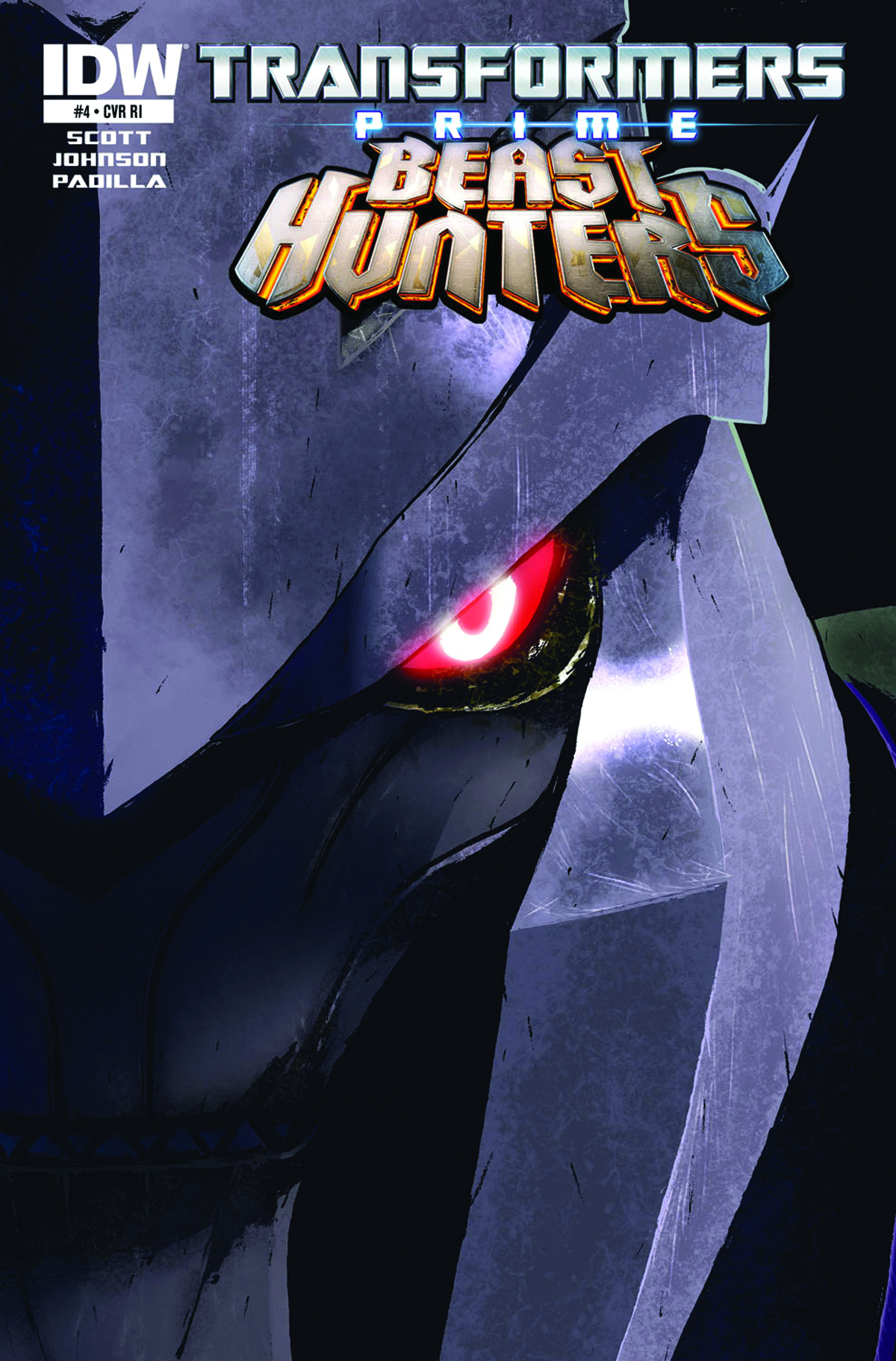 TRANSFORMERS PRIME BEAST HUNTERS #4 SUBSCRIPTION CVR