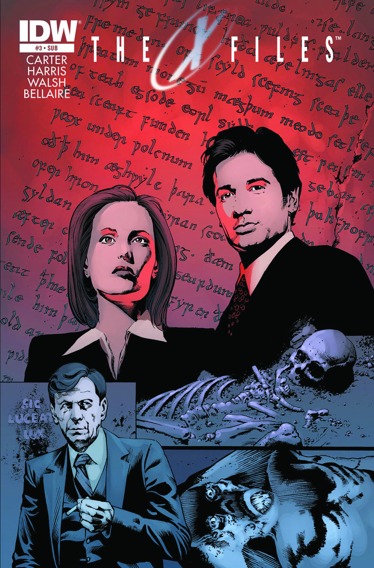 X-FILES SEASON 10 #3 SUBSCRIPTION VAR